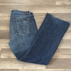 Men's 7 For All Man Kind Jeans A pocket Sz 36